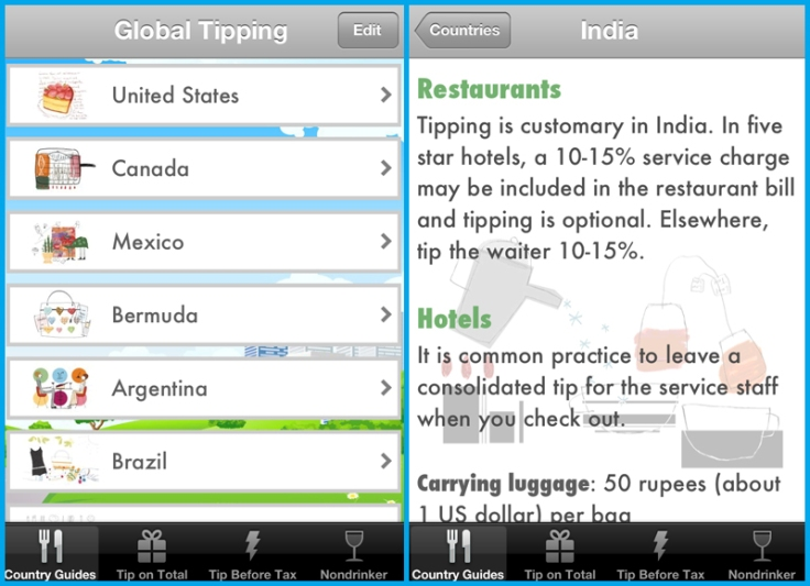 Global tipping