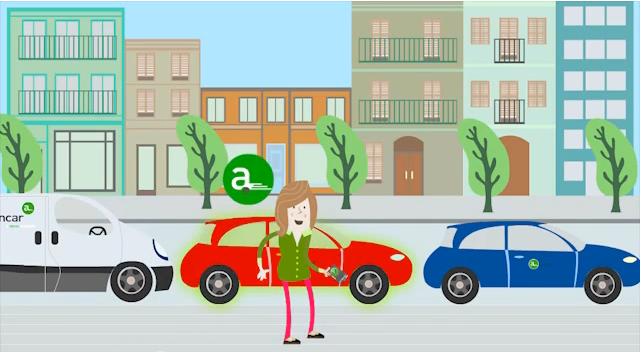 Avancar alquiler de coches por horas en barcelona