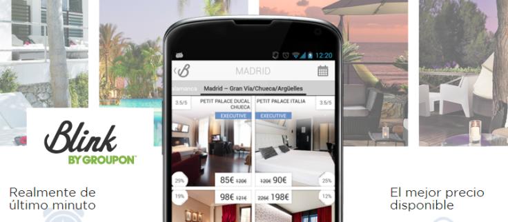 App Blink Hoteles Economicos