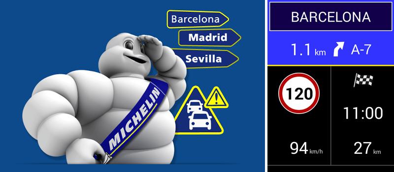 App Michelin Navigation Trafico Radares España