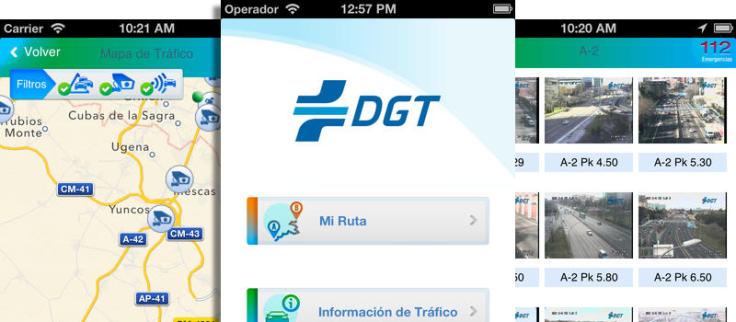 Apps DGT Gratis para Evitar el trafico en Carretera