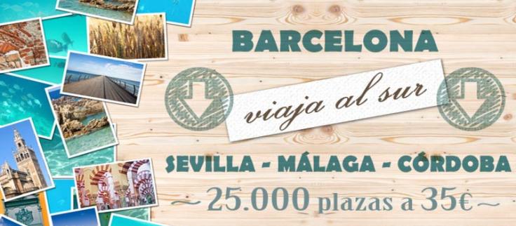 Oferta Promocion Renfe AVE Mayo 2014 Barcelona Sevilla Malaga