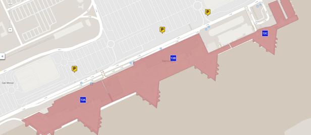 Parking Motos Gratis Aeropuerto Barcelona Terminal T2