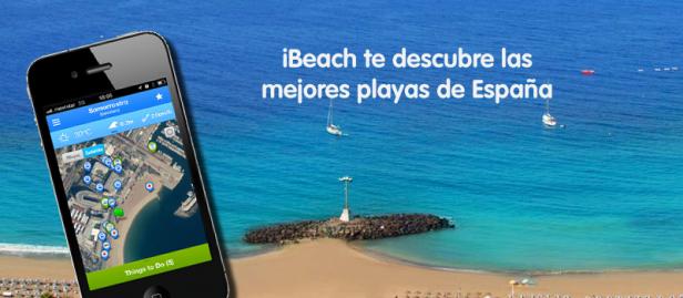 ibeach app las mejores playas de espana