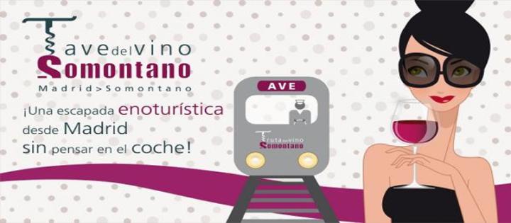 Ruta del Vino Somontano en tren AVE desdeAtocha