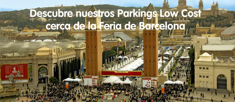 parkings low cost feria de barcelona