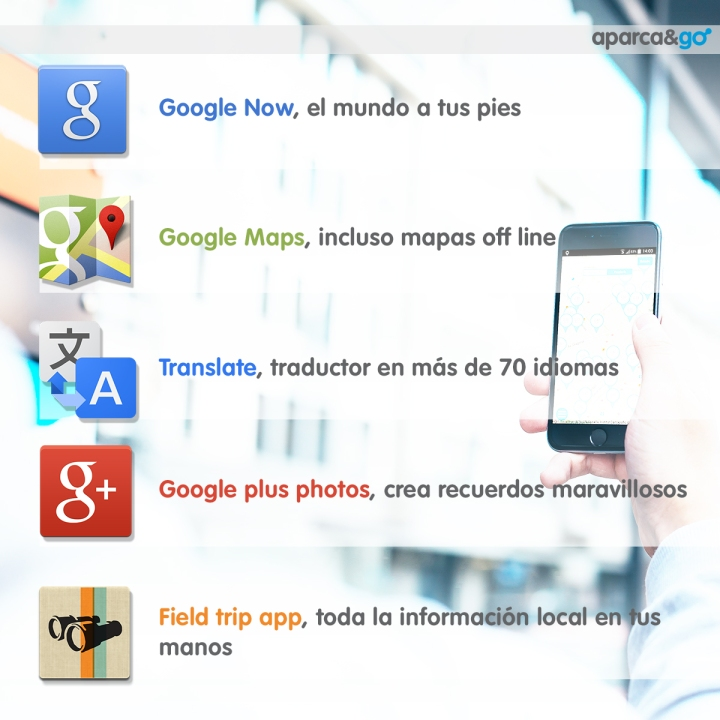 Las 5 mejores y más útiles apps de Google paraviajar