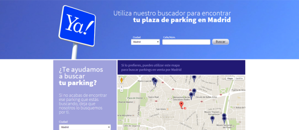 Buscador comprar parkings barcelona y madrid