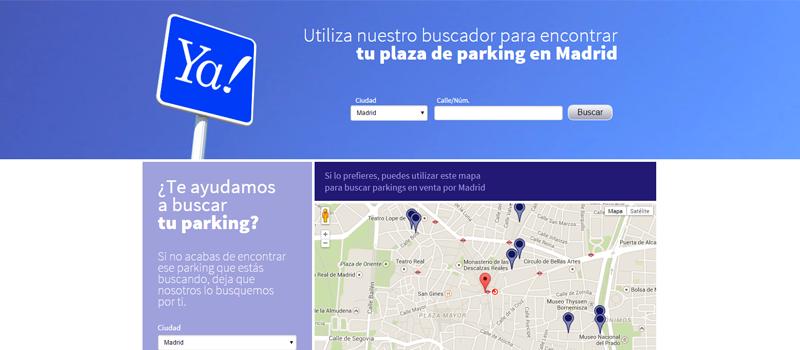 Buscador comprar parkings barcelona y madrid