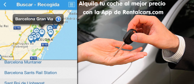 Alquiler de coches con la app de rentalcars