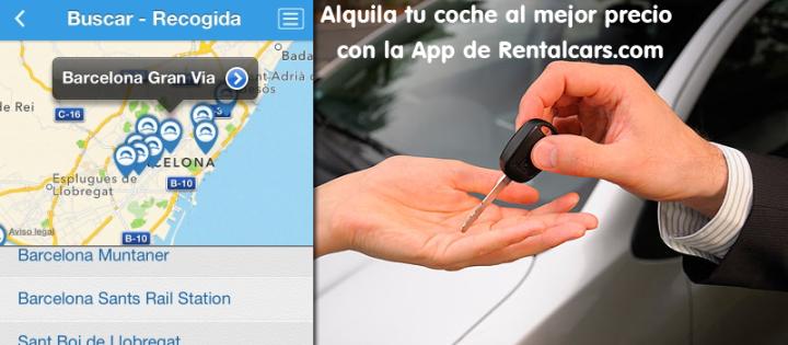 Alquila coches al mejor precio con la App deRentalcars