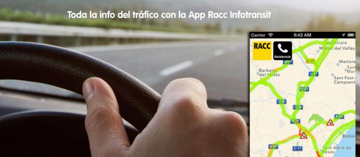 Toda la informacion del trafico con la app racc infotransit