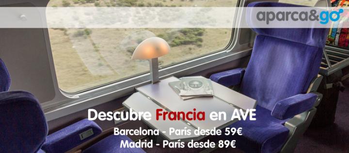 Descubre París en tren AVE desde 59€ elbillete