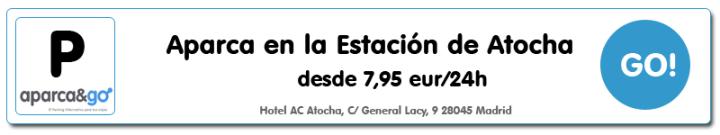 Parking Low Cost Estacion de Atocha Madrid AVE