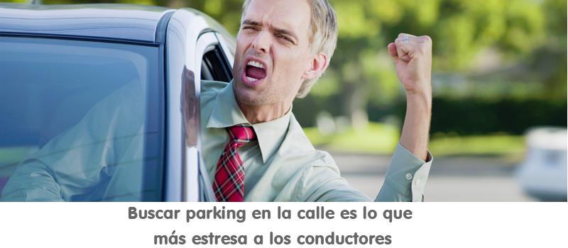 buscar parking en la calle es lo que más estresa a los conductores