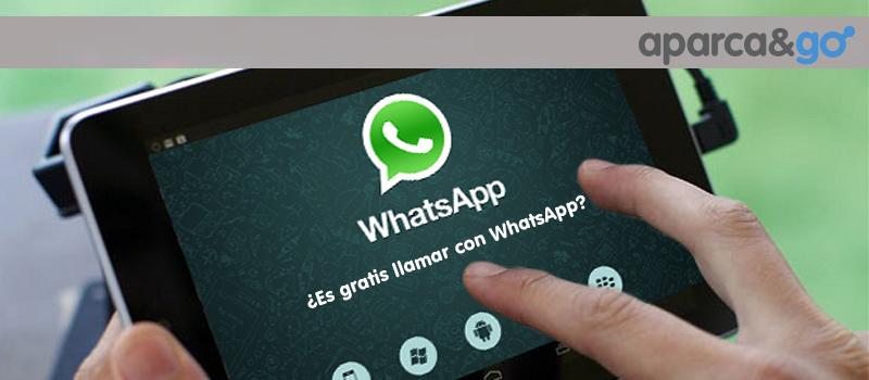 Es gratis llamar por Whatsapp