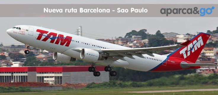 Vuela a Sao Paulo desde Barcelona