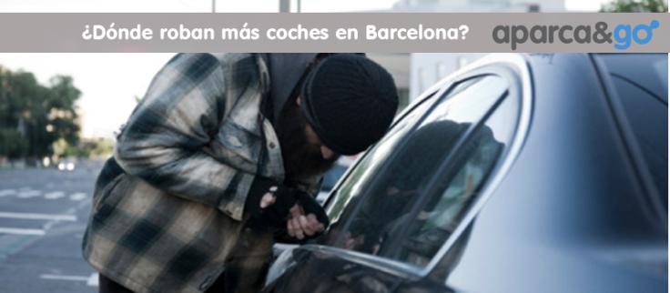 donde roban mas coches en barcelona