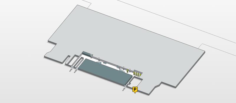 mapa del parking motos gratis terminal t4 aeropuerto de madrid barajas adolfo suarez