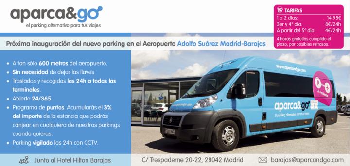 Aparca&Go estrena parking en el Aeropuerto de MadridBarajas