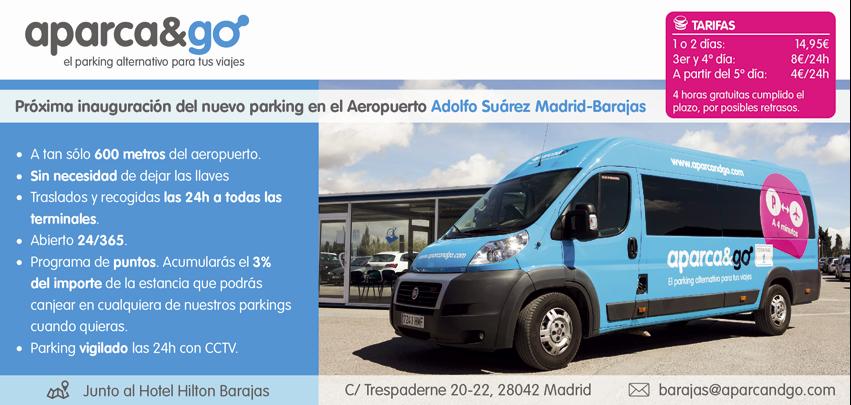 Parking Aeropuerto de Madrid Barajas