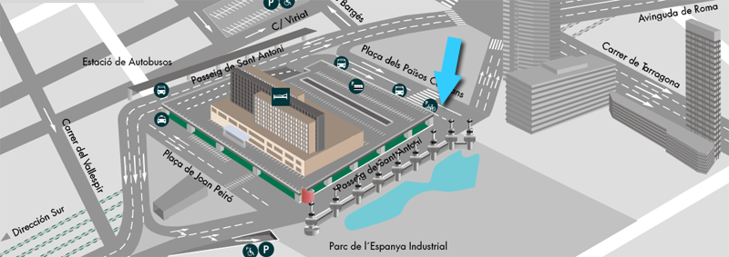 Parking Gratis Estacion de Sants Barcelona