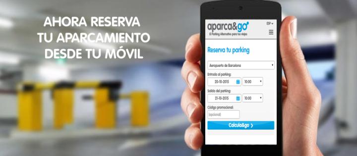 Reserva aparcamiento desde tu móvil con nuestra nuevaweb