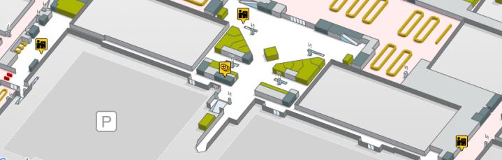 Localizacion oficinas de cambio La Caixa Terminal 1 planta 1 aeropuerto de barcelona