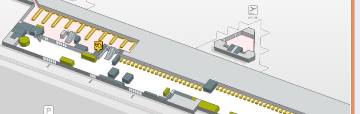 Localizacion oficinas de cambio La Caixa Terminal 2B planta 0 aeropuerto de barcelona