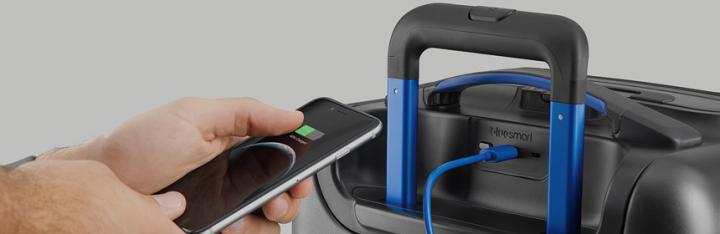 Una maleta inteligente controlada con la App deBluesmart