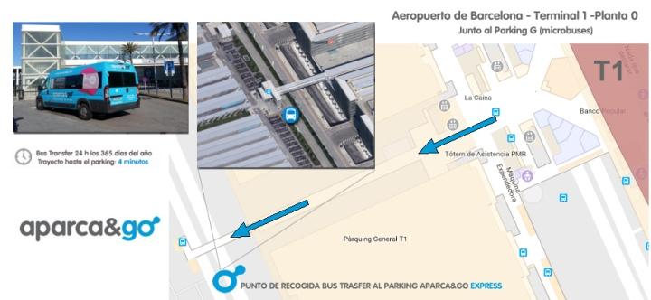 map recogida Barcelona T1 ESP
