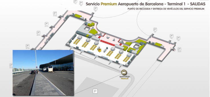Punto de encuentro PREMIUM barcelona Terminal 1