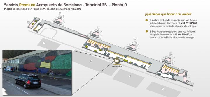 Punto de encuentro PREMIUM barcelona Terminal 2 planta 0